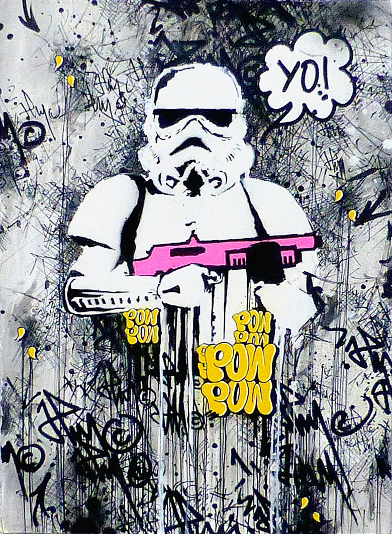 Image of 'YO!! Startrooper. Back From London 2016.