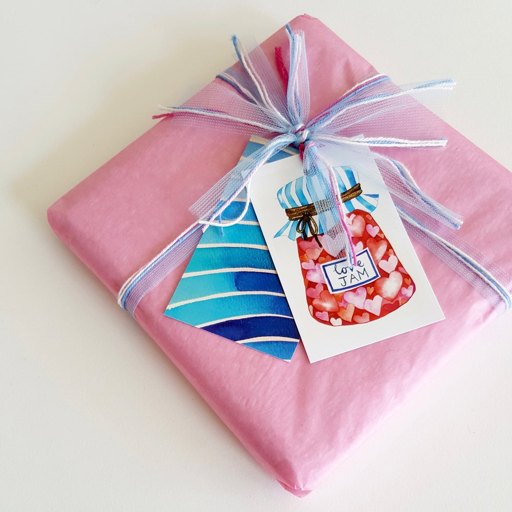 Image of little love jam (6 pack) GIFT TAGS