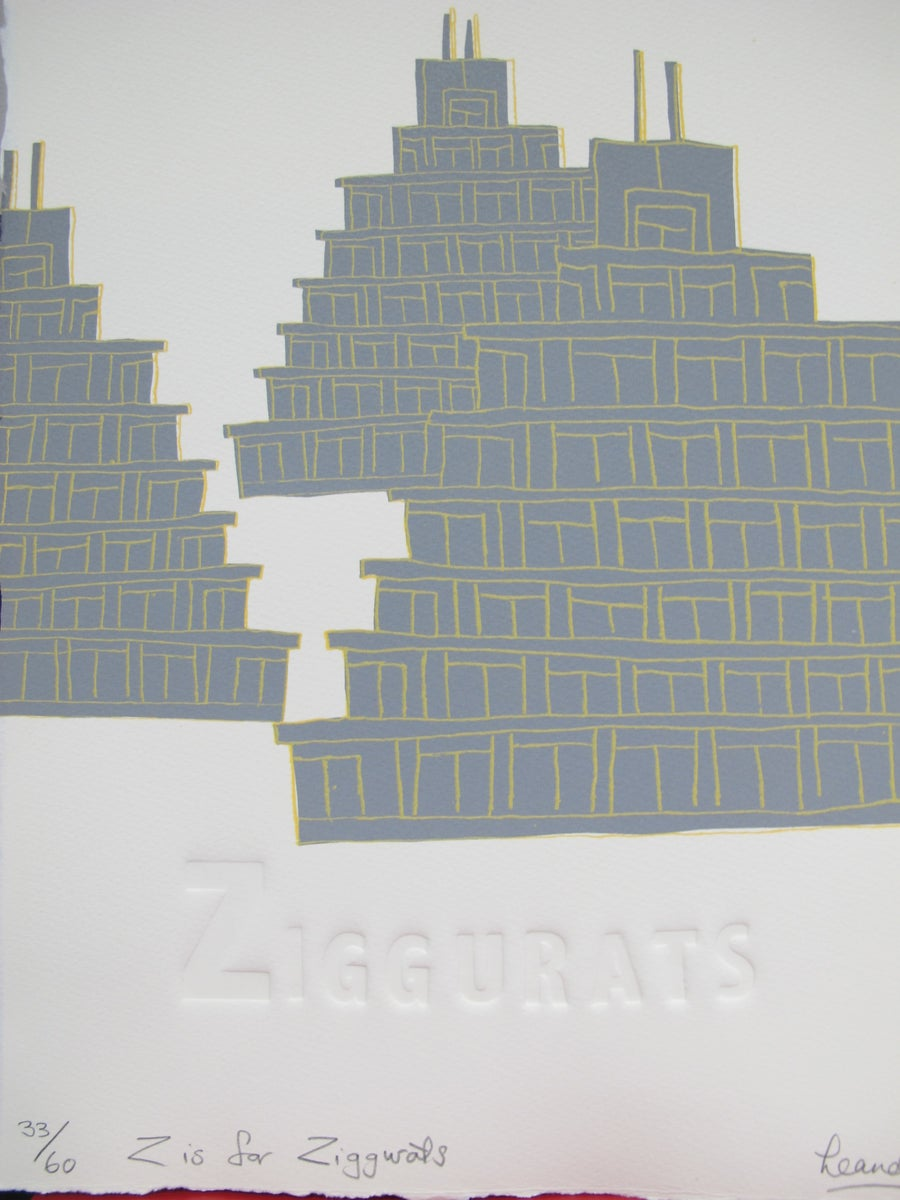 Image of Z is for Ziggurats