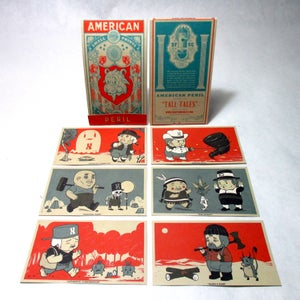 "Image of The Great American Peril, Print Set V.01 ""Tall Tales"""