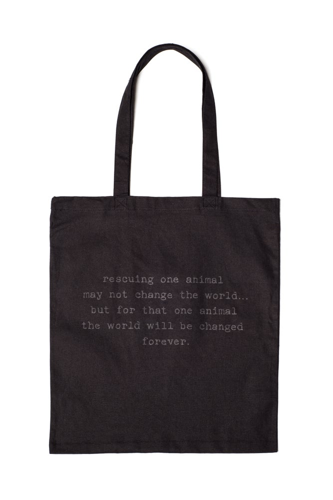 Image of black tiny tim tote