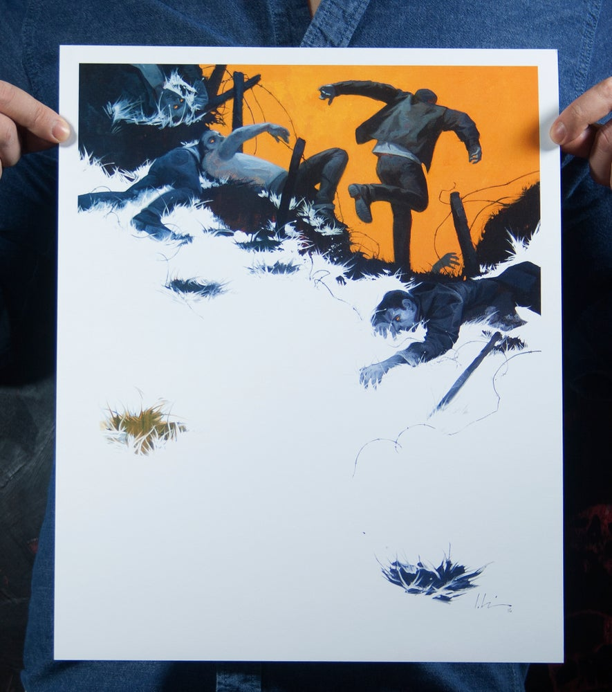 Image of Run, Run, Run - Wax Ink Prints