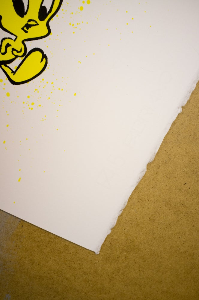 "Image of ""I Tawt I Taw A..."" *Canary Yellow"