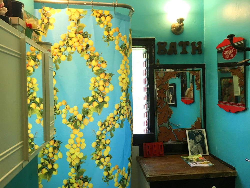 Image of Lemon Shower Curtain