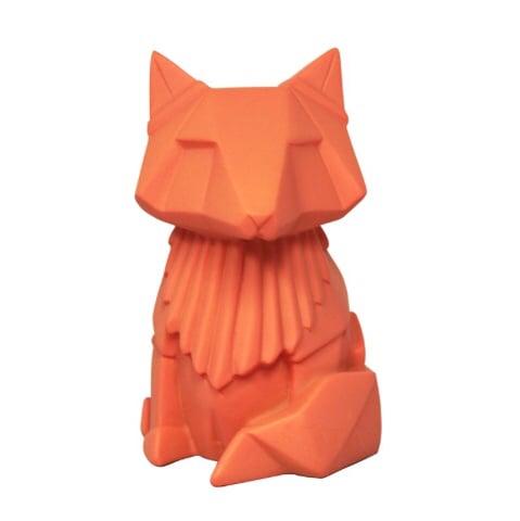 Image of Mini Orange Fox Origami LED Light Lamp