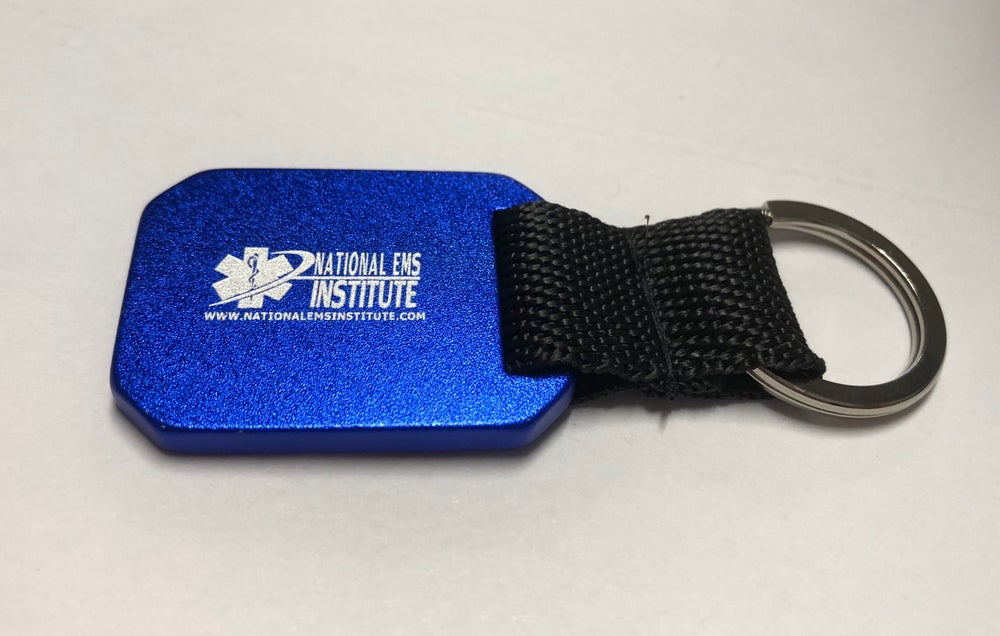 Image of Metallic Blue NEI Keychain