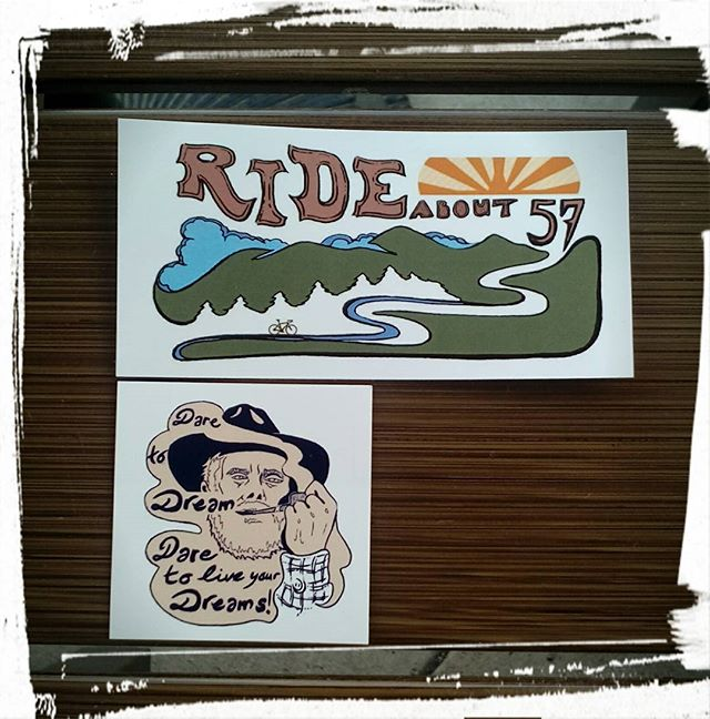 Image of Rideabout57 Stickers!