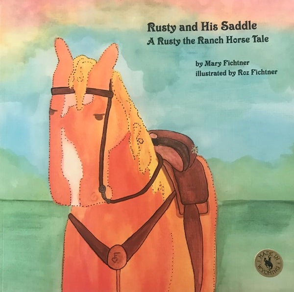 Image of Large 12 X 12 inch paperback! Same exact story as the original Saddle book!