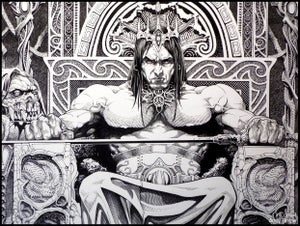 Image of Throne- 13x19 LIMITED Print (signed)