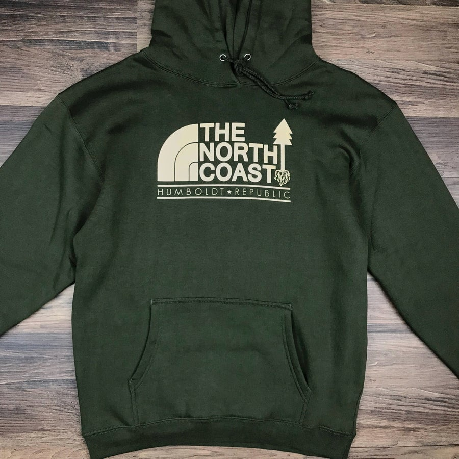 "Image of ""The North Coast"" Men's Pullover Hoodie"