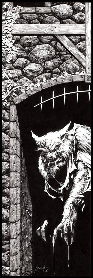 Image of Werewolf- 13x19 LIMITED Print (signed)