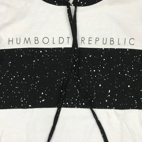 "Image of ""Space Dust"" Men's Limited Cut & Sew Hooded Top"