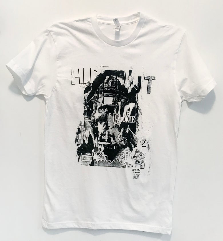 "Image of Hideout – ""Rookie"" white tee"
