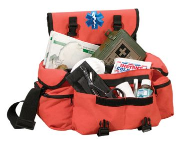 Image of Medical Rescue Response Bag in Blue or Orange