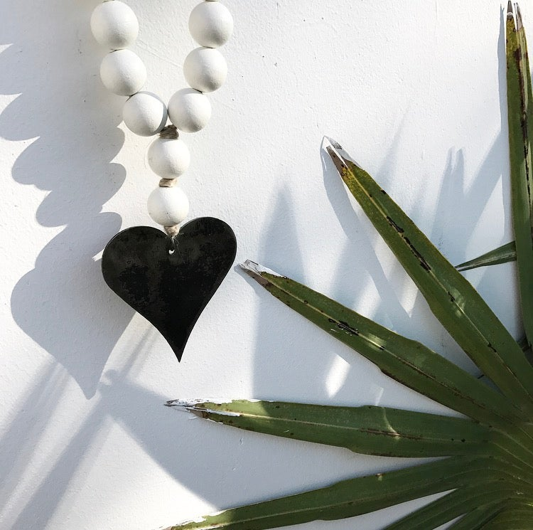 Image of MINI LOVE BEADS - WHITE HEART