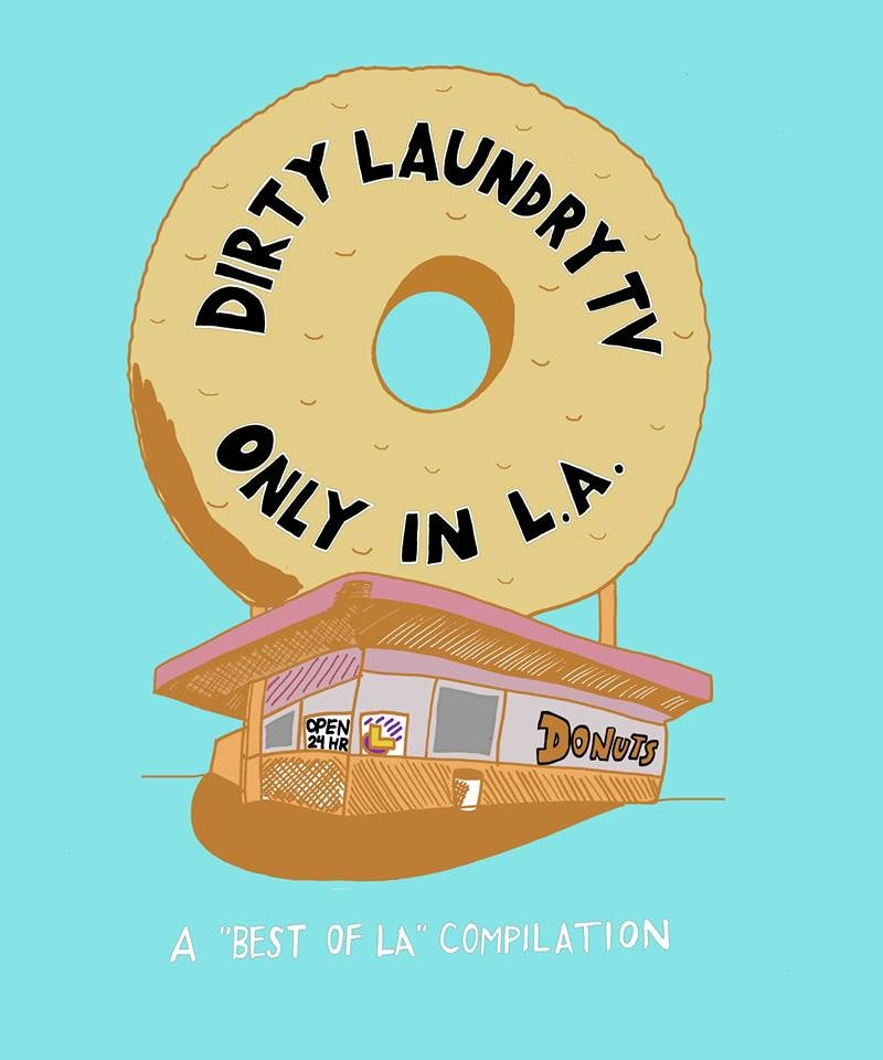 Image of DIRTY LAUNDRY TV'S ONLY IN LA CASSETTE