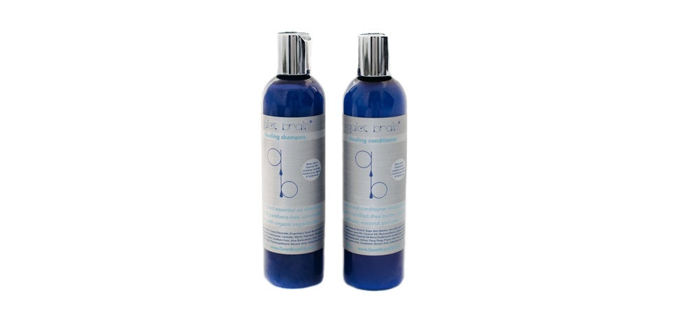 Image of Quiet Brain Healing Shampoo & Conditioner