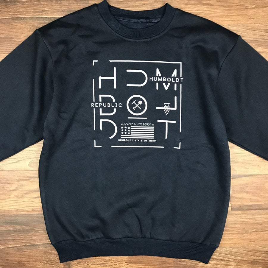 "Image of ""Tiltway"" Men's Premium Crewneck Sweater"
