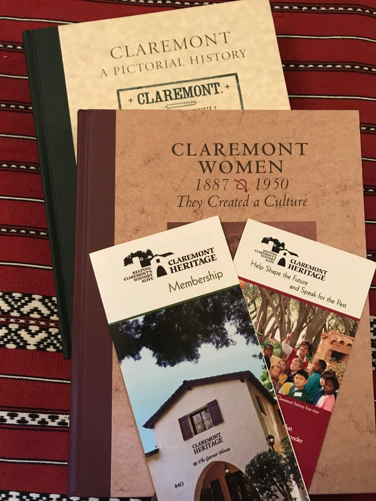 Image of Holiday Gift Package #2 - Judy Wright Claremont Books & Friends Circle Membership ($125 Value)