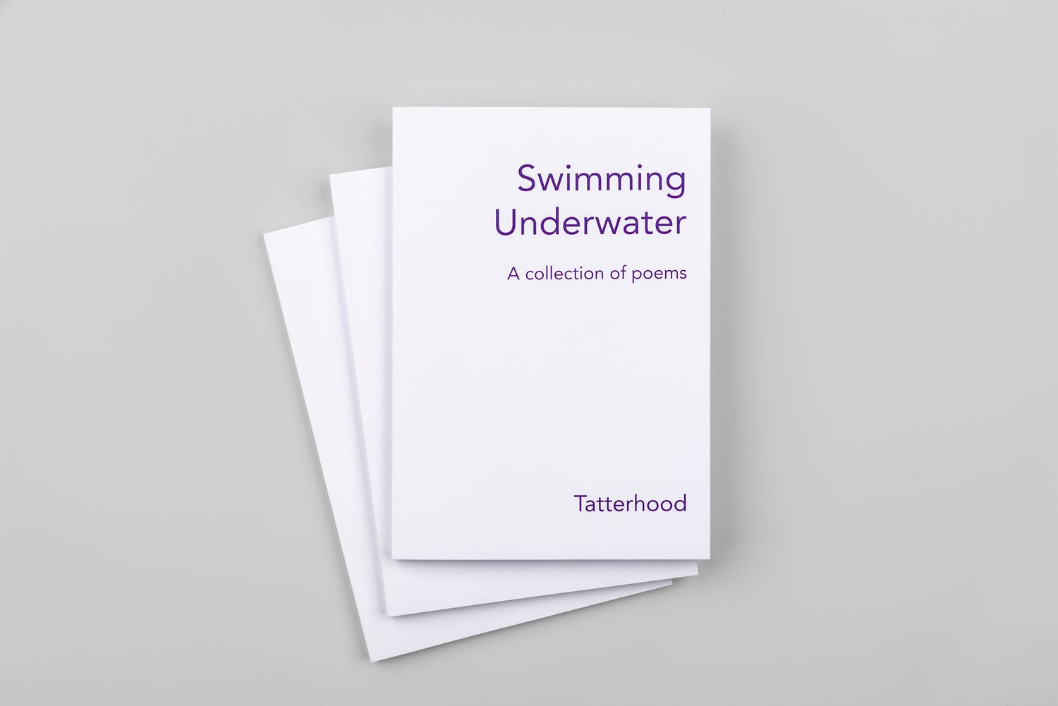 Image of Swimming Underwater - A book by Tatterhood