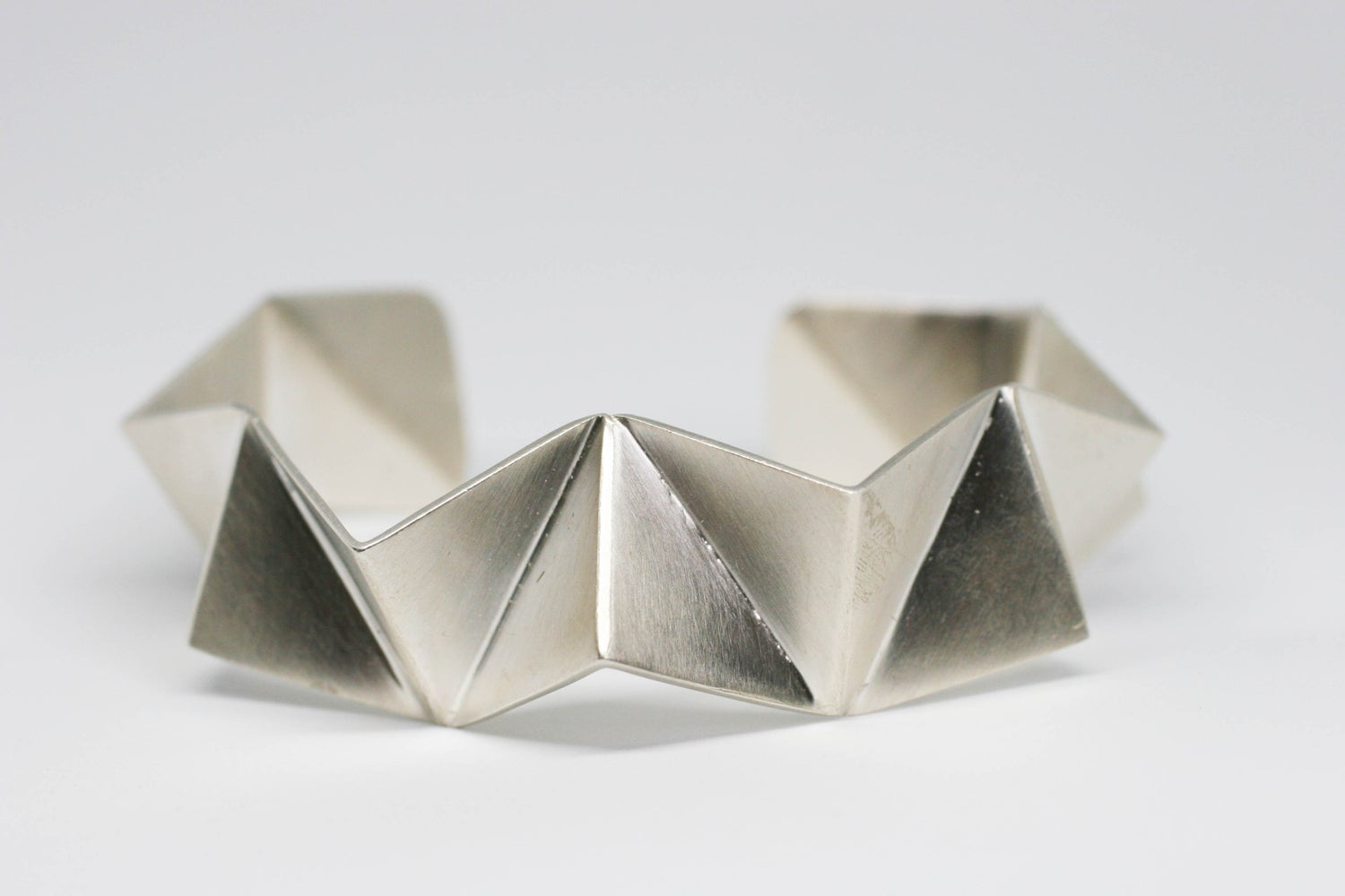 Image of Folded cuff bracelet