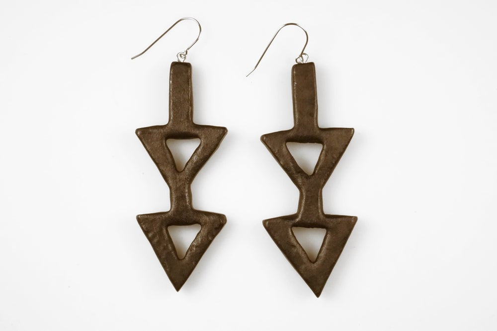 Image of Double Down Earrings