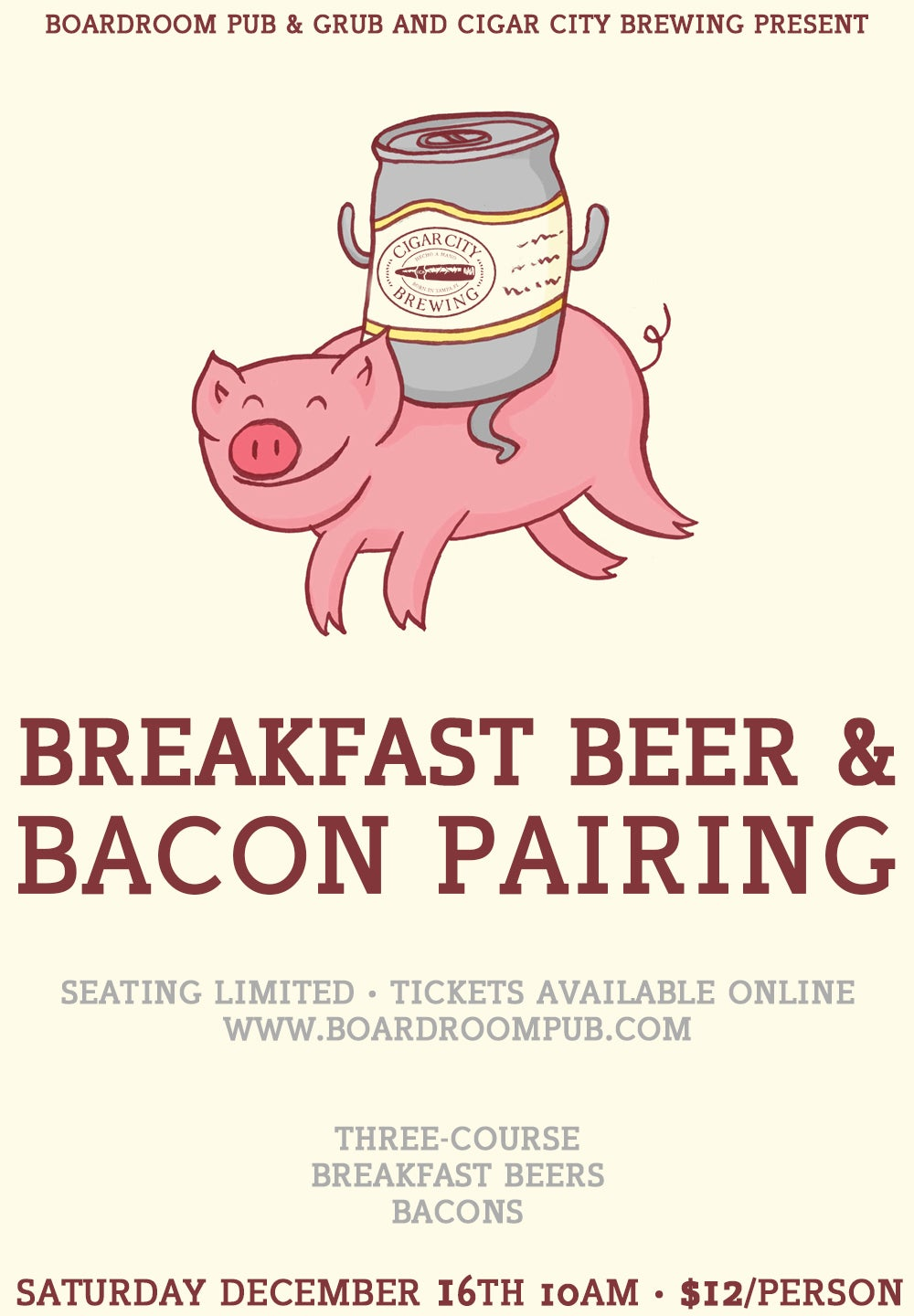 Image of Breakfast Beer & Bacon Pairing
