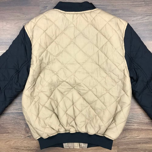 "Image of ""Vixen"" Ladies Quilted Bomber Jacket - OAT"