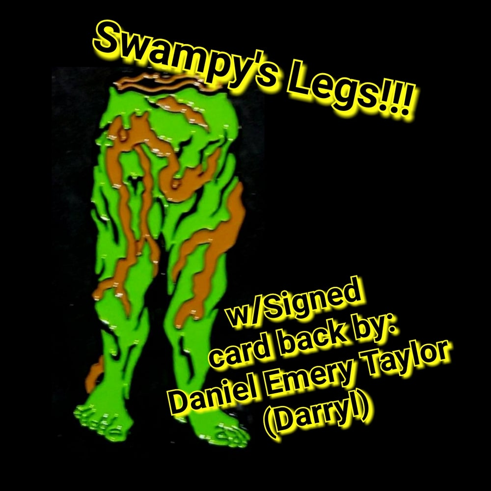 Image of COLLECTIBLE PIN: 002 LTD.ED. - Swamp Legs, SIGNED