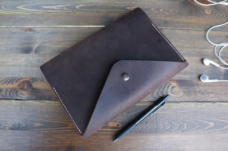 Image of The Grove Leather Journal - Crazy Horse leather