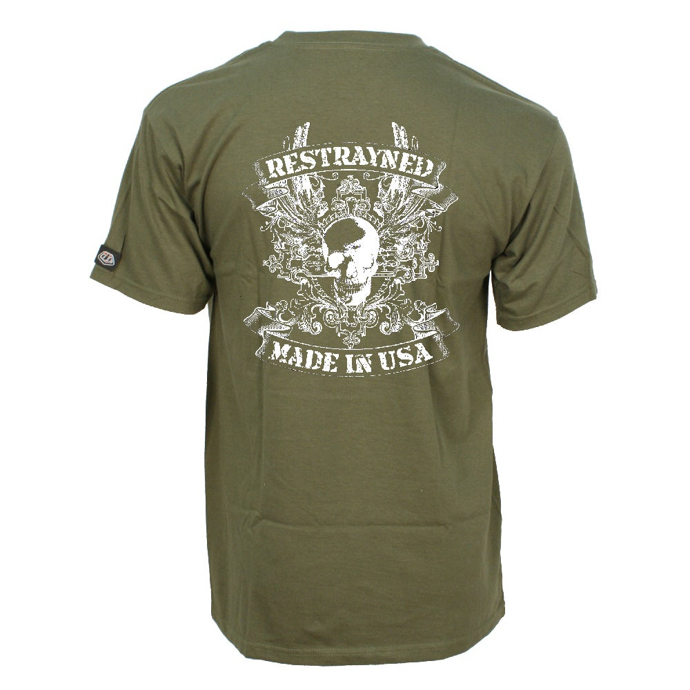 Image of Restrayned Military Tee