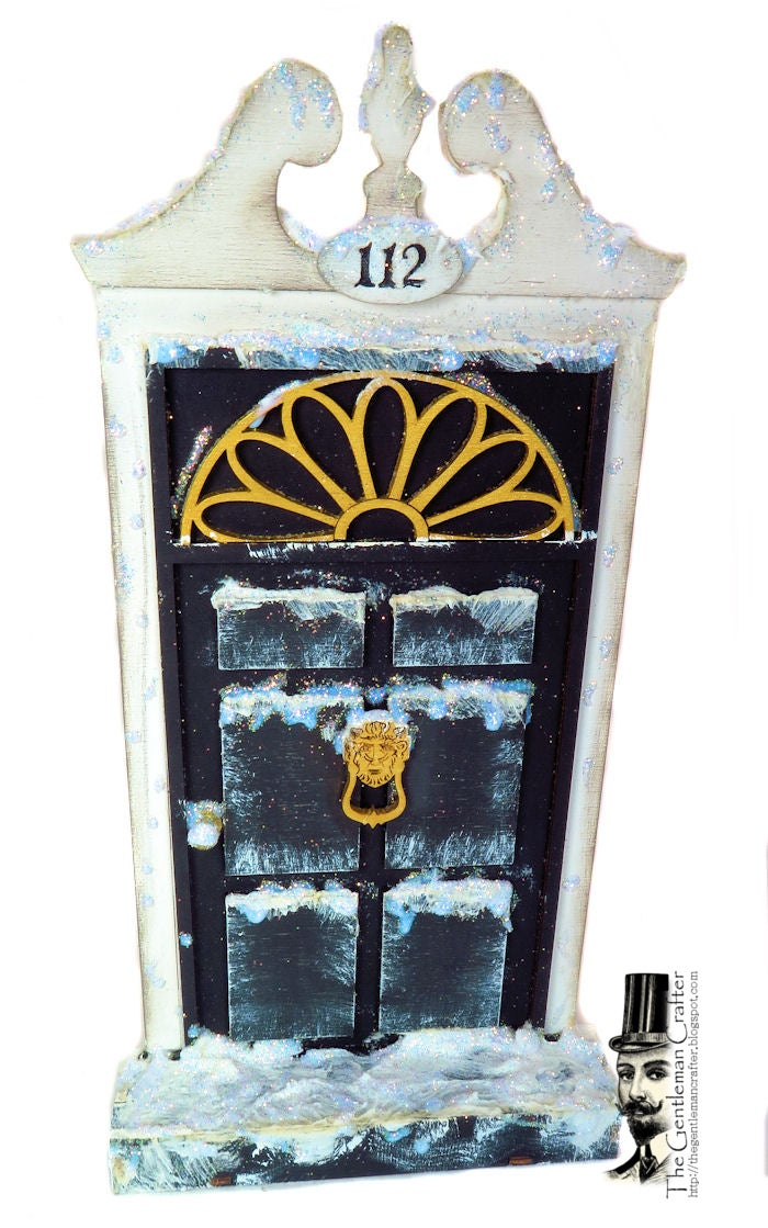 Image of #112 Fairy Lane- Scrooge's Door