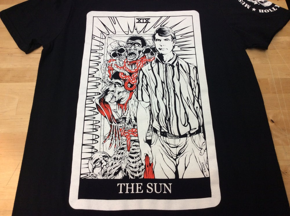 "Image of D.I.E. Dahmer ""The Sun"" Tarot"