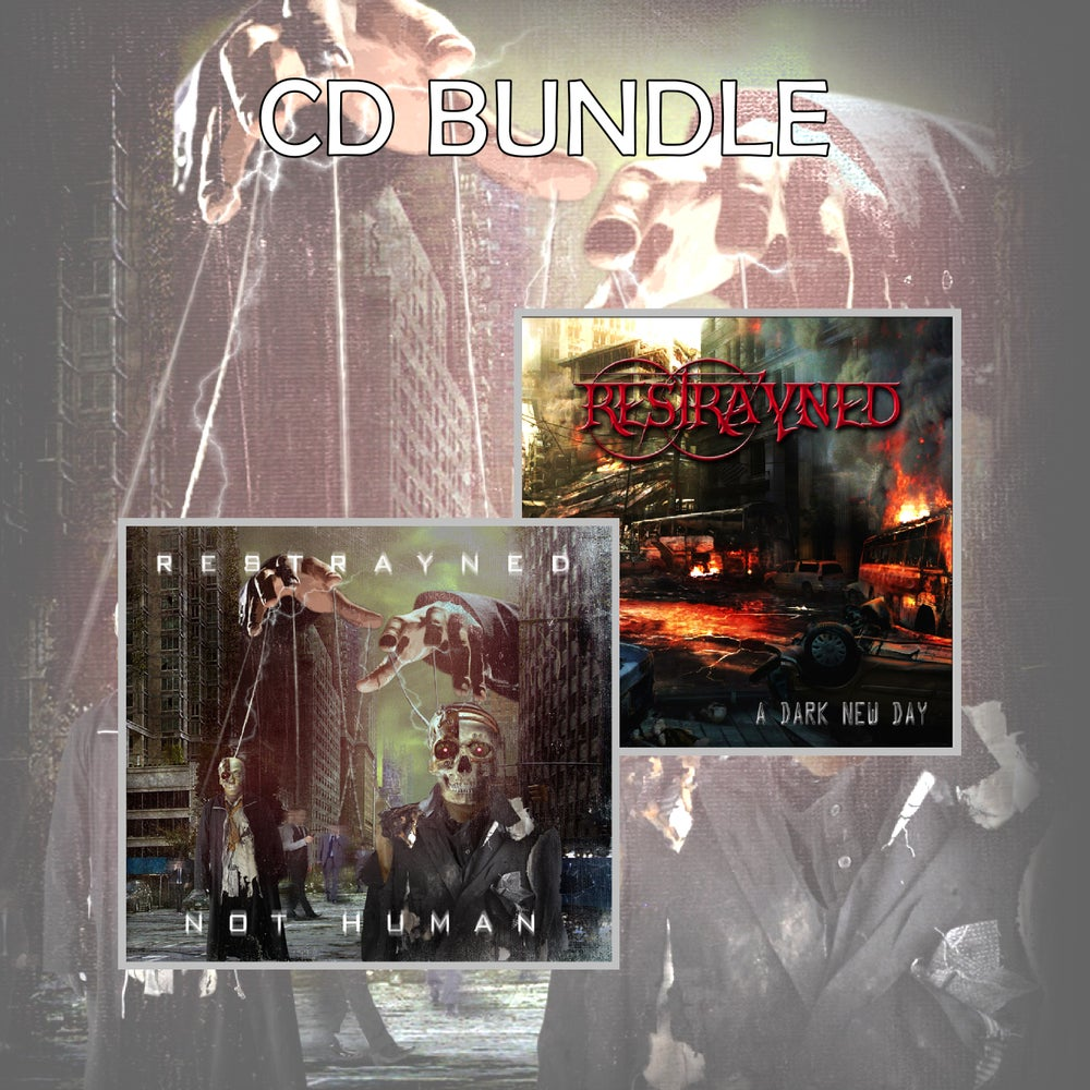 Image of Restrayned CD Bundle