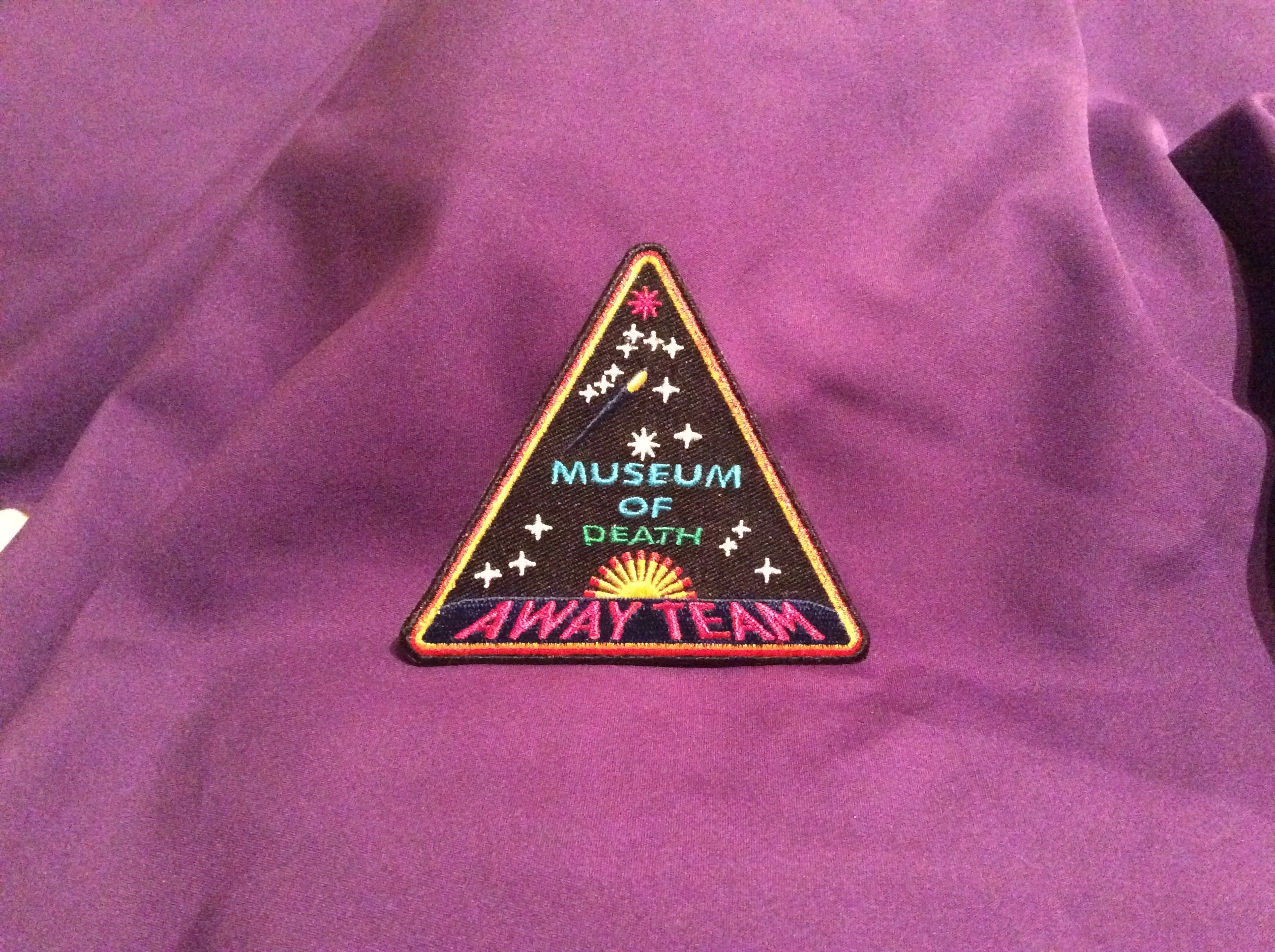 Museum Of Death Away Team Heavens Gate Inspired Patch Museum