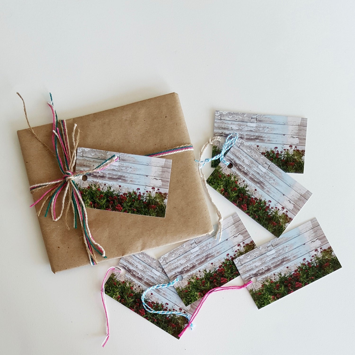Image of rustic shed (6 pack) GIFT TAGS