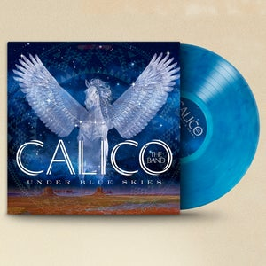 Image of Under Blue Skies ~ Blue with Smoke Colored Vinyl