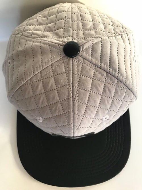 "Image of ""Between Sheets"" Quilted Snapback Hat"