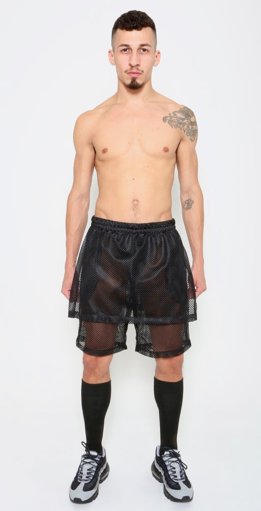 Image of SKORT SHORT-BLACK OR WHITE
