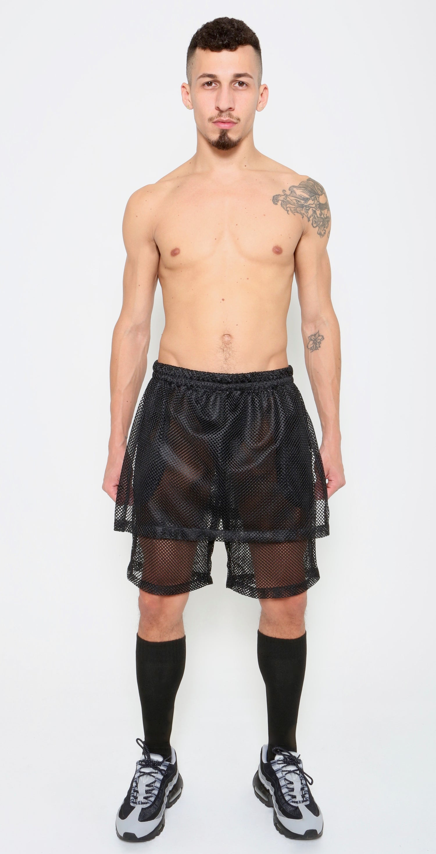 Image of SKORT SHORT-BLACK