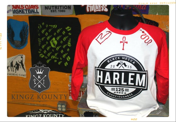 Image of HARLEM 125TH CONSCIOUSNESS RAGLAN