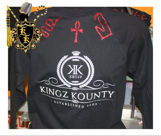 Image of KINGZ KOUNTY LOGO LONG SLEEVE