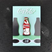 Image of Cola Polar enamel pin