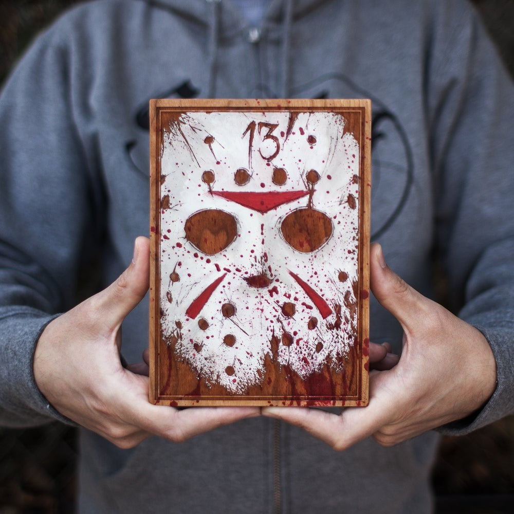 Image of Oil Painted Jason Mini