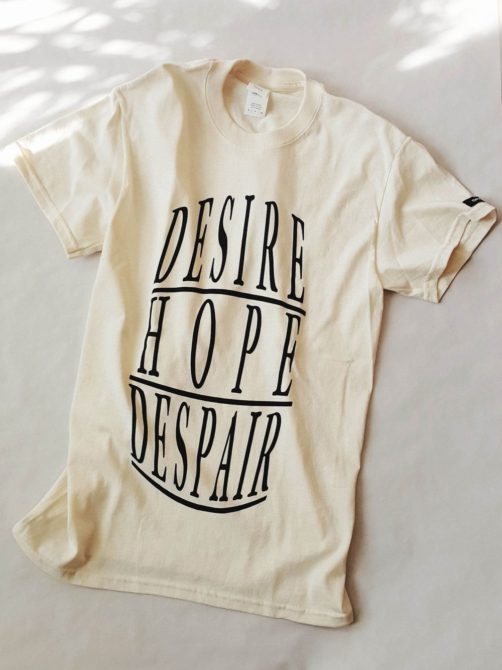 Image of DESIRE HOPE DESPAIR short sleeve | 2XL ~ 5XL