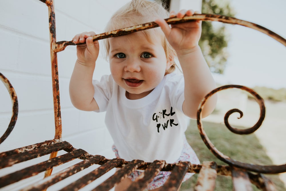 Image of GRL PWR Toddler + Childrens Tee