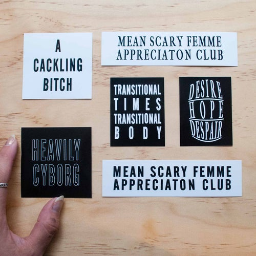 Image of STICKERS FOR CYBORGS PACK