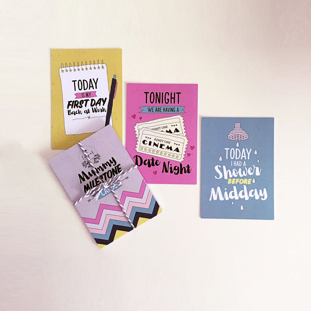 Image of Mummy Milestone Cards