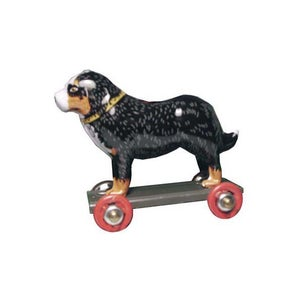 Image of Miniature Tin Toy Ornament - Dog