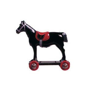 Image of Miniature Tin Toy Ornament - Horse